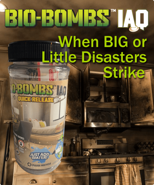 Bio-Bombs for Room Spaces