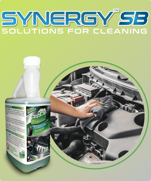 Synergy SB BioClean GREEN Concentrate - 32oz/bottle (yields 32 RTU Quarts)