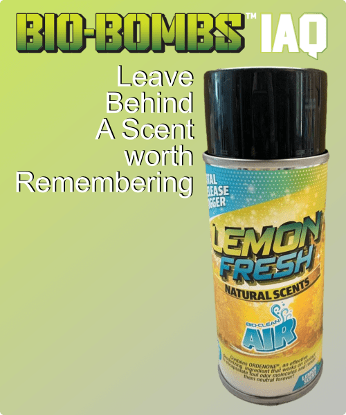 BioClean AIR Lemon Fresh Scent
