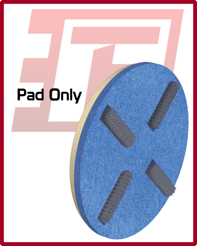 Replacement Scrub Pads for 3D Scrub System