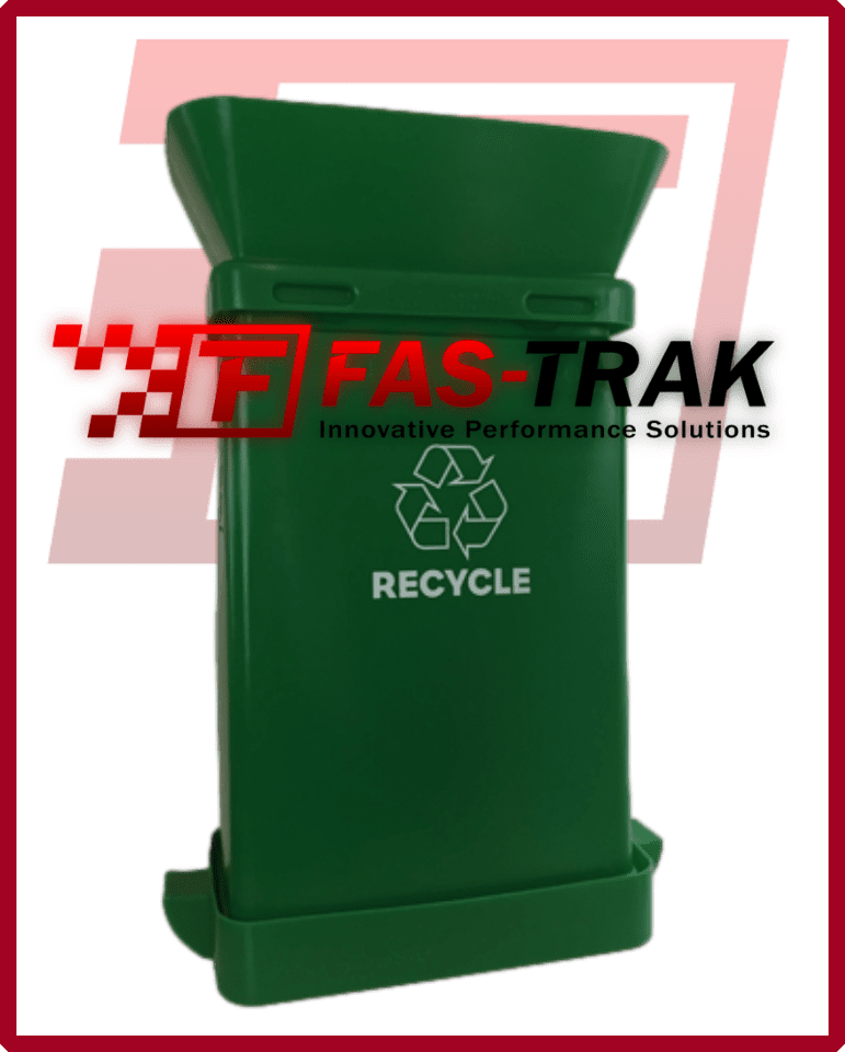 SmartcanMax Safety Receptacle - Green